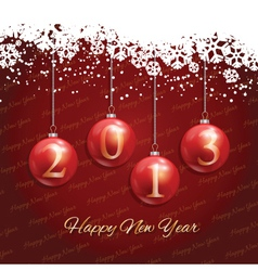 new year background 1511 vector image