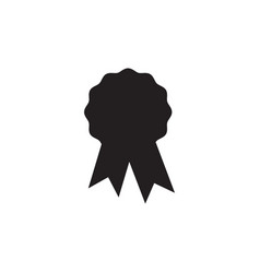 award badge icon design template isolated vector image