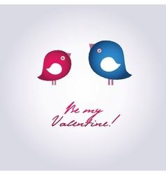 Birds on the love date Hand drawn background for vector image