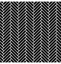 Black and white simple geo herringbone seamless vector