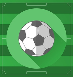 Classic Soccer Ball icon vector image