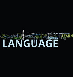 Foreign language tips to improve your foreign vector