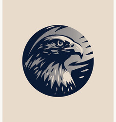 Head an eagle vector