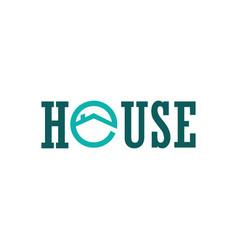 House circle logo vector