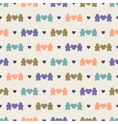 Love seamless pattern vector