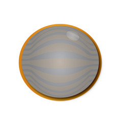 Orange and gray icon vector