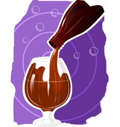 alcohol vector image