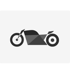 Motorcycle bike vector image vector image