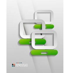 File program paper design vector