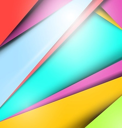 Material Design - Modern Background - Pattern vector image vector image