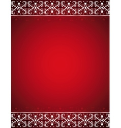 red certificate background vector image vector image