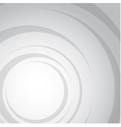 abstract grey water wave circle background vector image