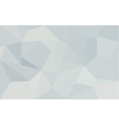 Abstract white geometric paper background vector image vector image
