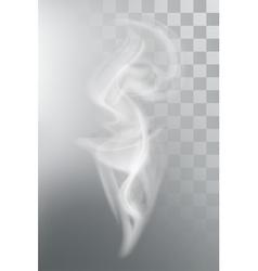 Smoke aroma steam vector