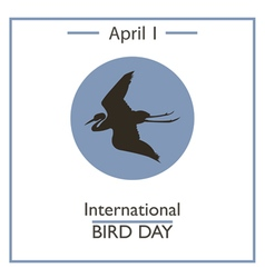 Bird Day vector