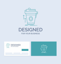 Product promo coffee cup brand marketing business vector