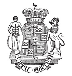 Seal of lord dunmore is a royal governor of vector
