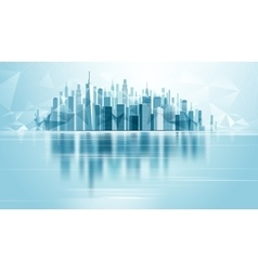 Urban Landscape City vector image