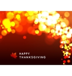 Happy thanksgiving background vector image vector image