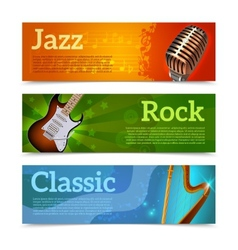 Music Festival Banners vector image