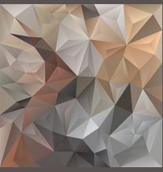 Beige irregular polygon background vector