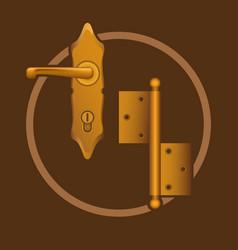 golden door accessories vector image vector image