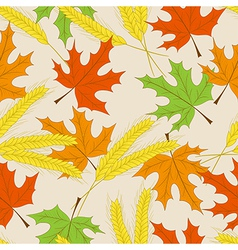Autumn seamless pattern can be used for wallpaper vector