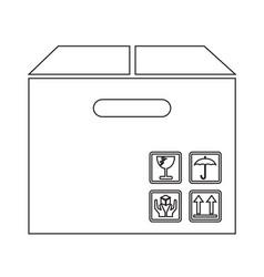 Box package icon symbol design vector