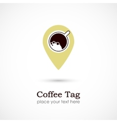 Coffee Tag vector