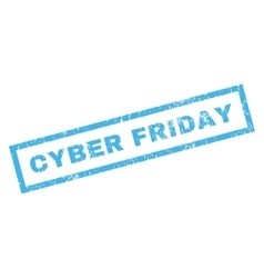 Cyber Friday Rubber Stamp vector
