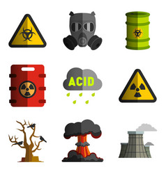 Environment nuclear and biological weapons vector