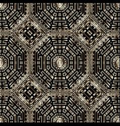 Textured grunge seamless pattern abstract modern vector