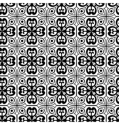 Seamless texture with Gothic elements vector image