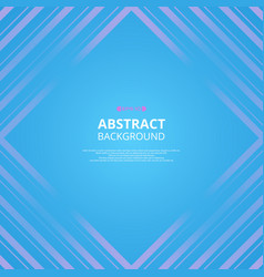 abstract of colorful line pattern shapes vector image