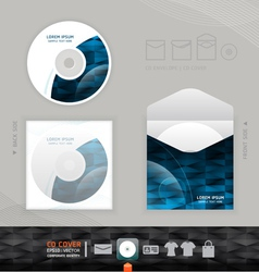 CD modern Design template corporate identity vector