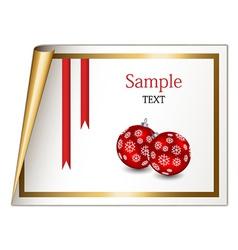 Christmas sheet vector