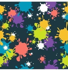 Drop Blot Background Seamless vector image