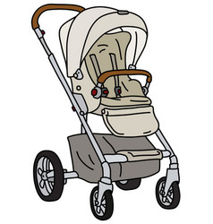 Light sport stroller vector