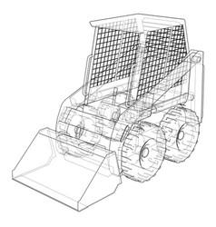 Mini loader vector