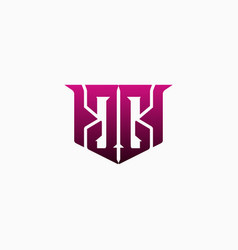 mirror the letter gg capital initial logo vector image