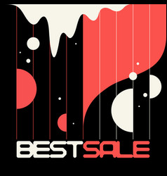 Sale banner modern backgrounds with abstract vector