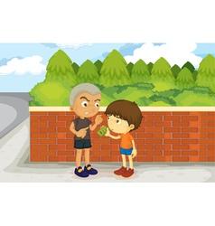 boys vector image vector image