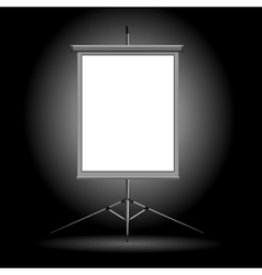 projection stand vector image vector image