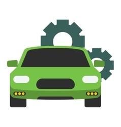 Car service repair icon vector image vector image