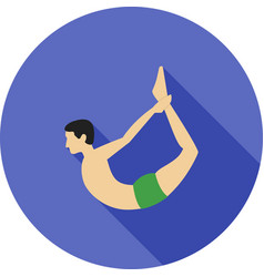 Bow pose vector