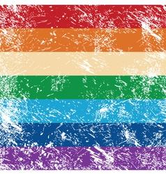 Gay rights flag vector