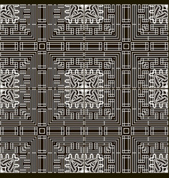Grid lines seamless pattern intricate striped vector
