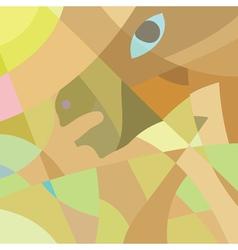 Horse mosaic vector