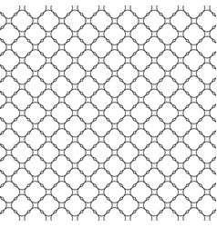 Lattice pattern with trendy lattice on a white vector