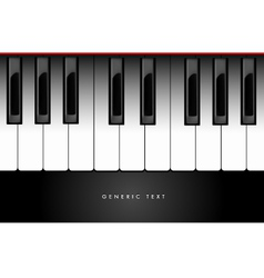 Piano Keyboard Background vector